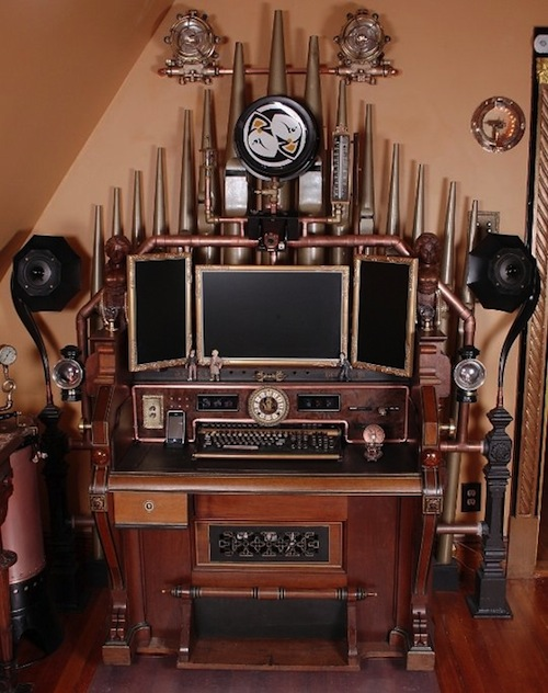 1-Steampunk-Command-Desk–Bruce-Rosenbaum
