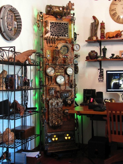 10 Awesome Steampunk Computer Case Mods Computer Science